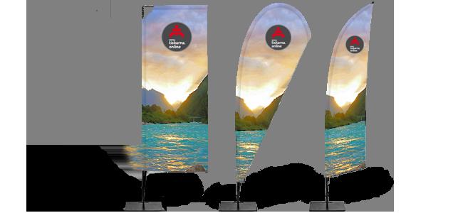 tiskarna.online - beach-flag-zastava